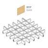 ฝ้าตะแกรงอลูมิเนียม ช่องเปิด Space Cubes สี 5117 Gold ราคาถูก