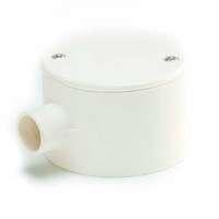 SCG PVC Electric Telecom White BS 1 Way Terminal Box cheap price