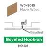 ฝ้าสแตนเลส Hook On ลายไม้ WD-8015 Maple Wood ราคาถูก
