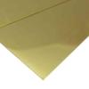 """แผ่นทองเหลือง JIS H3100 C2680 16""""x48"""" 0.4 mm  ราคาถูก"""