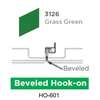 ฝ้าเหล็ก กัลวาไนซ์ Hook On สี 3126 Grass Green ราคาถูก