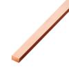 ทองแดงเส้นแบน หน้า 5/8 นิ้ว หนา 1/8 นิ้ว นน. 0.48 กก./ม. ราคาถูก