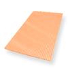 แผ่นหลังคาโปร่งแสง สีส้มอิฐ แสงส่องผ่าน 37% ราคาถูก