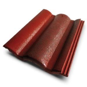 Diamond Concrete Tile Prakaitawan Red Main
