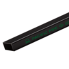 Carbon Steel Black Rec Pipe 6 m 1 1/2x3/4-inch 38x19 mm 1.2 mm 6.07kg cheap price