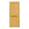 ประตูไม้จริง สยาแดง Unix S-2C ราคาถูก