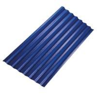 Diamond Small Corrugated Tile Roongroj Blue cheap price