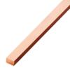 ทองแดงเส้นแบน หน้า 1/2 นิ้ว หนา 1/8 นิ้ว นน. 0.38 กก./ม. ราคาถูก