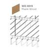 ฝ้าอลูมิเนียม ลายเส้น Linea Slim ลายไม้ WD-8015 Maple Wood ราคาถูก
