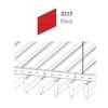 ฝ้าอลูมิเนียม ลายเส้น Linea Streamline สี 3117 Red ราคาถูก