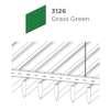 ฝ้าอลูมิเนียม ลายเส้น Linea Streamline สี 3126 Grass Green ราคาถูก