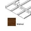 ฝ้าเหล็ก กัลวาไนซ์ ตัวเอฟ F-Plank Metalworks ลายไม้ Walnut ราคาถูก