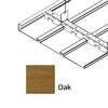 ฝ้าเหล็ก กัลวาไนซ์ ตัวเอฟ F-Plank Metalworks ลายไม้ Oak ราคาถูก