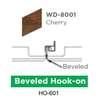 ฝ้าสแตนเลส Hook On ลายไม้ WD-8001 Cherry Wood ราคาถูก