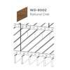 ฝ้าอลูมิเนียม ลายเส้น Linea Slim ลายไม้ WD-8002 Natural Oak ราคาถูก