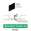 ฝ้าเหล็ก กัลวาไนซ์ Hook On สี 3111 Black ราคาถูก