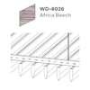 ฝ้าอลูมิเนียม ลายเส้น Linea Streamline ลายไม้ WD-8026 Africa Beech ราคาถูก