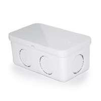 SCG PVC电信白色JIS 4x2便携式接线盒WEC 低价