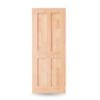 ประตูไม้สน UNIX ยูนิกซ์ รุ่น Eco NZ E04 ราคาถูก