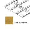 ฝ้าเหล็ก กัลวาไนซ์ ตัวเอฟ F-Plank Metalworks ลายไม้ Dark Bamboo ราคาถูก
