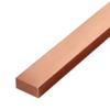 ทองแดงเส้นแบน หน้า 1 นิ้ว หนา 1/8 นิ้ว นน. 0.74 กก./ม. ราคาถูก
