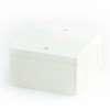 กล่องพักสายไฟ สี่เหลี่ยม 4x4 สีขาว BS พีวีซี เอสซีจี ราคาถูก