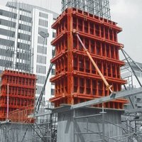 Metal Column Concrete Formwork with Plywood cheap price