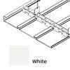ฝ้าเหล็ก กัลวาไนซ์ ตัวเอฟ F-Plank Metalworks สี White ราคาถูก