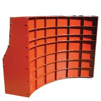 Metal Curved Barrier Concrete Formwork cheap price