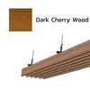 ฝ้าอลูมิเนียม ลายเส้น Metalworks ลายไม้ Dark Cherry Wood ราคาถูก