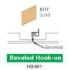 ฝ้าเหล็ก กัลวาไนซ์ Hook On สี 5117 Gold ราคาถูก