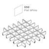 ฝ้าตะแกรงอลูมิเนียม ช่องเปิด Space Cubes สี 050 Flat White ราคาถูก