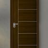 ประตูลีโอวูด IWW46 Walnut 90x200 ซม. ราคาถูก