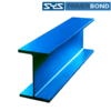 WF ทำสีรองพื้นกันสนิม SYS PB Premium พรีเมี่ยม 100x50x5มม. 6 ม. 55.8 กก.  t1:5 t2:7  ราคาถูก