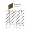 ฝ้าอลูมิเนียม ลายเส้น Linea Slim ลายไม้ WD-8001 Cherry Wood ราคาถูก