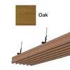 ฝ้าอลูมิเนียม ลายเส้น Metalworks ลายไม้ Oak ราคาถูก